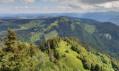 Belle vue sur la deuxième chaine du Jura