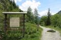 Le sentier botanique ...plus que 100m !