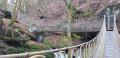 Pont suspendu de 30 m de long