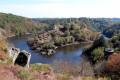 Le rocher de la Fileuse et le sentier des Arts, de Fougères à Crozant
