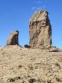 Roque Nublo à partir de La Culata