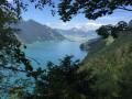 Vue du lac en hauteur
