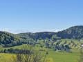 La vue des Alpes depuis Malbuisson via le GR®509